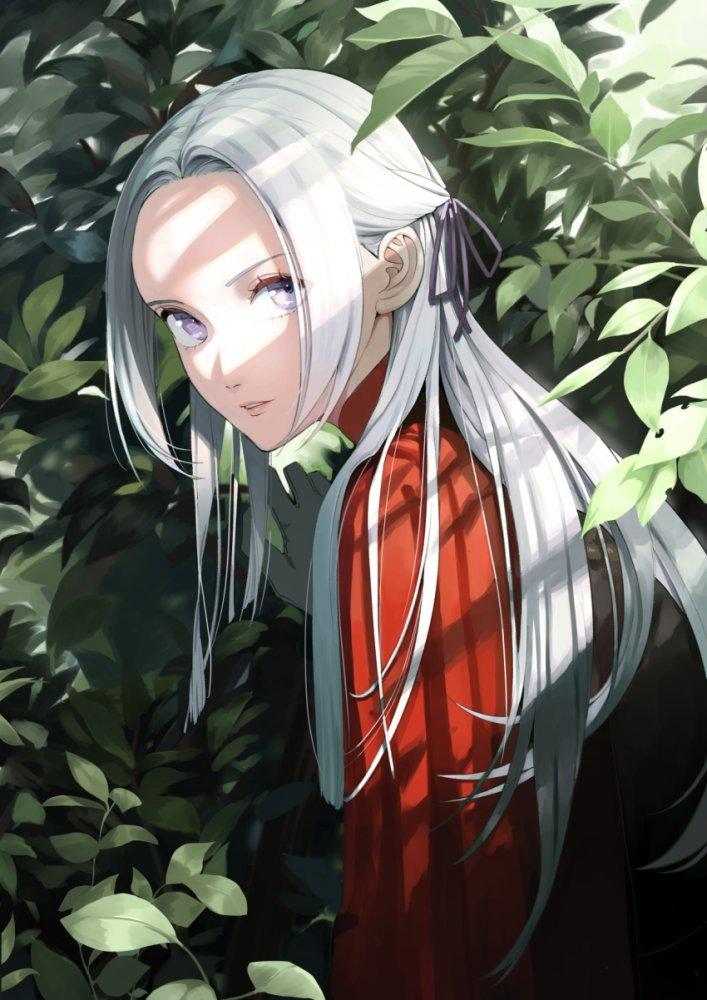 【二次】銀髪・白髪女子画像 その2